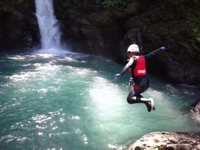 Shawa Canyoning Water-jumping